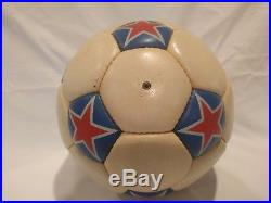 1975 Adidas NASL Official Match Ball Cosmos New York game used & Pele signed