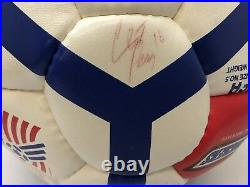 1994 World Cup Autographed Soccer Ball From Snickers Team USA 9 Player Signature