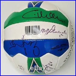 1997 San Jose Clash Autographed Soccer Ball Troy Dayak, Corrales, Doyle, Lewis
