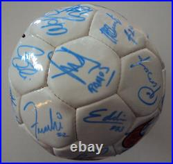 1998 MLS All-Star Game Complete US & Int'l Team Signed Ball with41 Signatures