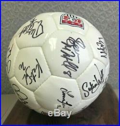 1999 USA National Women World Cup -team Signed Soccer Ball -coa