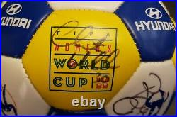 1999 USA Women's World Cup Soccer Ball Signed By 5 Players No COA
