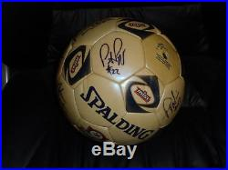 2001 2002 Philadelphia Kixx Misl World Champs Team Signed Game Used Soccer Ball