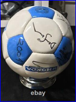 2004 Chicago Fire Vintage MLS Soccer Ball Signed By The Whole Team26 Autos/1