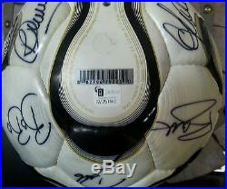2006 World Cup of Soccer Champions Team Italy Signed Ball
