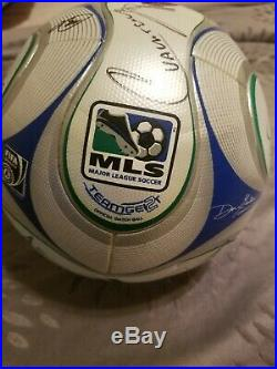 2009 Major League Soccer All-Stars Team-Signed Soccer Ball Authenticated
