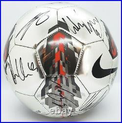 2011 Manchester United Team Signed Autographed Nike Ball Wayne Rooney Ferguson