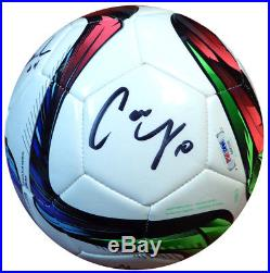 2015 World Cup Autographed Adidas Soccer Ball 10 Sigs Lloyd Solo Psa/dna 107494