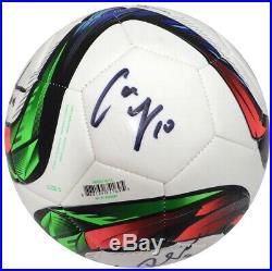 2015 World Cup Autographed Soccer Ball 9 Sigs Carli Lloyd Ertz Beckett 133479