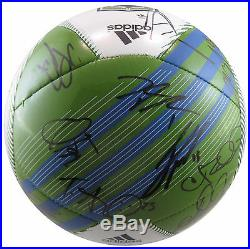 2016 Seattle Sounders, Team, Signed, Autographed, Logo Soccer Ball, Coa, With Proof