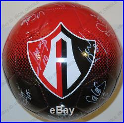 2017 CLUB ATLAS ZORROS team signed official ball Authentic adidas BEAUTIFUL