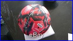 2017 MLS Champion Toronto FC TFC team signed ball Giovinco Bradley Altidore +21