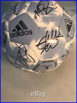 2018 SPORTING KANSAS CITY Team Signed Autographed SPORTING KC Soccer BallCOA