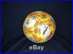 2019 Team Usa Team Signed Soccer Ball World Cup Champions