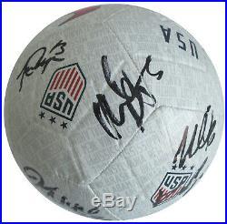 2019 USA Women's National team signed, autographed, USA soccer ball. COA Proof