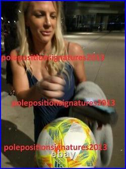 2019 USA Womens Team Signed Soccer Ball PROOF World Cup France Morgan Pugh +22