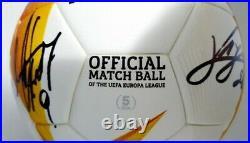 2020-21 Match Used Napoli Sociedad UEFA Europa League Soccer Ball! Team Signed