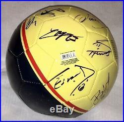2020 Club America Mexico Team autographed signed Ball EXACT PROOF Dos Santos