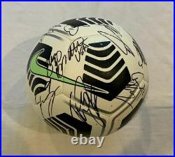 2021 USA Men's soccer team signed soccer ball Pulisic +23 Nations League PROOF