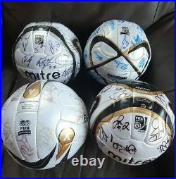 4no official mitre Carling cup match balls fifa approved signed W. B. A