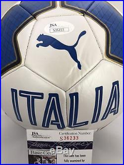 ANDREA PIRLO Signed Autographed Italy Italia Soccer Ball World Cup NYCFC JSA COA