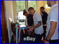 AS Roma ball signed Totti Dzeko Salah Spalletti De Rossi Florenzi El Shaarawy