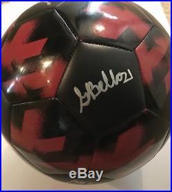 ATLANTA UNITED Team SIGNED AUTOGRAPH Ball JOSEF MARTINEZ ALMIRON BARCO X11