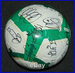 Australia Socceroos 2010 Fifa World Cup Squad Hand Signed Soccer Ball Kewell