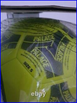 AW17 Palace x Adidas Tango Official Football Ball size 5 signed by Blondey McCoy