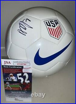 Abby Dahlkemper USA Womens Soccer signed Team USA F/S Soccer Ball USWNT JSA