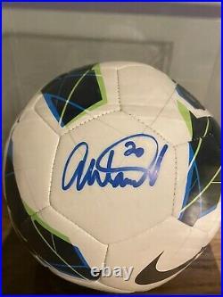Abby Wambach Signed Nike Soccer Ball JSA