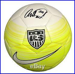 Abby Wambach USA signed womens soccer ball autograph JSA COA