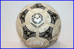 Adidas Ball Used Questra Fifa World Cup 1994 USA Signed By Saudi Arabia Players