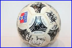 Adidas Ball Used Questra Fifa World Cup 1994 USA Signed By Tokyo Gas Fc Jfl Ball