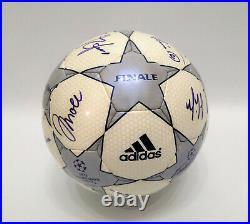 Adidas Champions League matchball Finale 2001 signed winners Bayern Munich