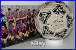 Adidas Etrusco Signed F. C. Barcelona