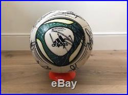 Adidas Matchball Speedcell 2011 OMB Footgolf JFA Autographed