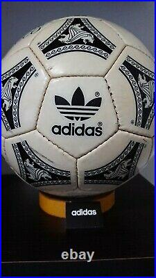 Adidas OFFICIAL MATCH BALL SerieA ETRUSCO UNICO 1990 signed version OMB
