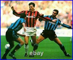 Adidas OFFICIAL MATCH BALL Serie A ETRUSCO UNICO 1992 signed Bergomi