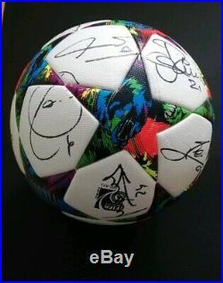 Adidas Official Match Ball 2015 Champions League Signed Barcelona Messi Neymar