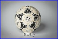 Adidas Questra FIFA World Cup 1994 made in France ball (signed by German team)