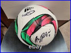Adidas Soccer Ball Signed by 9 USA Women's Soccer Players- Carli Lloyd. (JSA)