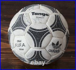Adidas Tango Rosario BECKENBAUER & German Team Signed 80s vintage ultra rare