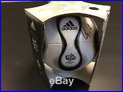 Adidas Teamgeist World Cup 2006 Match Ball Signed By Legend Gunter Netzer