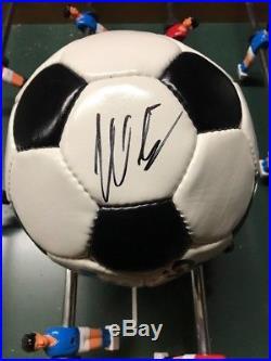 Adidas Telstar World Cup 1974 Matchball Signed Beckenbauer/muller Germany New