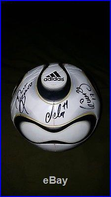 9773345af Adidas White Teamgeist Official Match Ball Autographed