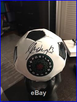 Alex Morgan And Michelle Betos signed Soccer Ball