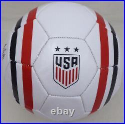 Alex Morgan Autographed Signed Soccer Ball Team USA (Smudge) Beckett Q46002