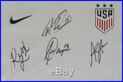 Alex Morgan/Megan Rapinoe/Rose LaVelle/A. Naeher USA Signed Soccer Jersey JSA