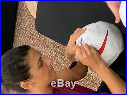Alex Morgan/Megan Rapinoe USA Team Soccer USNWT Signed Soccer Ball JSA 145834